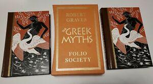 The Greek Myths Volumes 1 & 2 - Slipcase - Robert Graves - Folio Society - Nice!