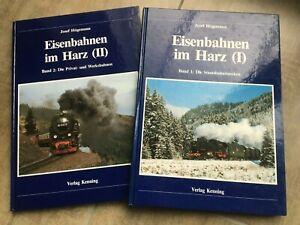 Eisenbahnen im Harz I+II Goslar Altenau Thale Kenning Reichsbahn Bundesbahn DDR