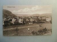 Ansichtskarte Mosbach Baden Ortsansicht Personen 1925