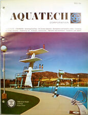Vtg AQUATECH Pools Catalog Swimming Pool Design Planning Engineering RETRO 1972