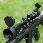 Pinty 6-24x50 Sniper Rifle Scope Hunting Rangefinder Red Green Reticle + Mount