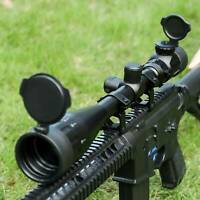 6-24X50mmIlluminated Rangefinder MilDot Reticle Riflescope Adjustable Objective