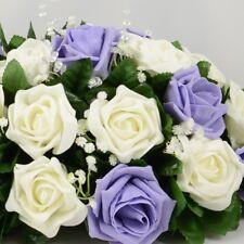 Artificial Wedding Flowers Silk Table Centre Decoration Arrangement 68 Colours