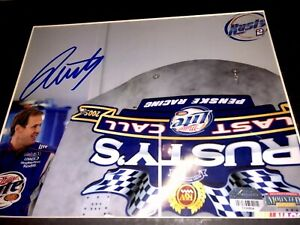 Rusty Wallace Signed #2 Miller Lite  8x10 Matted 11x14 NASCAR Photo Mounted Mem