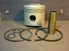 Vtg Benelli NOS Piston Kit_Part # H 8658 / C_Genuine_71 mm_Wards Cosmo Motobi