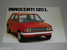 Pubblicità AUTO prospetto Leyland Innocenti 120 L, stand 05/1978