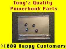 "Powerbook G4 15"" A1045, A1095, A1106 Hard Drive Caddy, Bracket, Cushions, Screws"