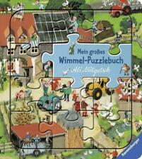 BUCH - Mein großes Wimmel-Puzzlebuch - Ali Mitgutsch NEU OVP