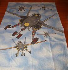 fighter jet pilot plane quilt cover single bed cotton AIR FORCE