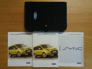 Ford Transit/Tourneo Connect Owners Handbook/Manual and Pack 13-17