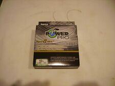 New listing PowerPro Spectra Super 8 Slick Braid Fishing Line 15 lb test Aqua Green-300 Yds