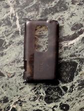 HTC EVO 3D Tasche Case Hülle schwarz Rückschale