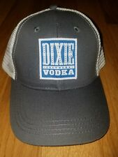 Dixie Southern Vodka Trucker Style Dark Gray/White Snap Back Baseball Cap   (E)