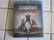 Scorpions Live in 3D - Blu  Ray