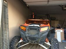 Polaris RZR 800/800S/900XP Orange Madness 1/2 windshield LIMITED!!!!
