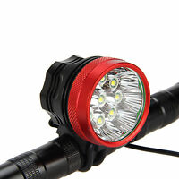 20000LM 9x XM-L T6  LED MTB Biciclette Bicicletta Luce Faro Lampada Torcia