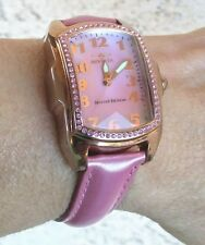 Invicta Womens Lupah Pink Mother-Of-Pearl Dial Interchangeable Watch 6 Strap Set