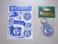 Diverse Aufkleber Schlüsselanhänger Schalke 04 S04 ( S2132 )
