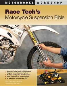 Race Tech's Motorcycle Suspension Bible ~ make a bike handle like a PRO ~NEW!