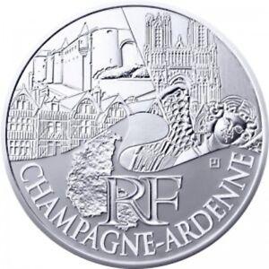 Champagne-Ardenne 2011 - 10 Euro des Régions en Argent