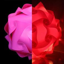lampshade shades light puzzle iq retro ceiling Lantern Pendant 32cm Pink