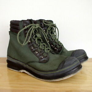 Orvis Mens Green Clearwater Wading Fly Fishing Boots w/ Felt Sole 2676 Sz 14