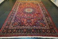 Prächtiger Handgeknüpfter Perser Orientteppich MESCHED Old Carpet Rug 240x350cm