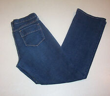 Women's Old Navy Sweetheart Low Rise Bootcut Blue Denim Jeans 4 Short
