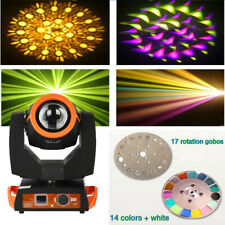 More details for 230w moving head beam light 7r sharpy 16+8 prism 6 glass gobos dj stage lighting