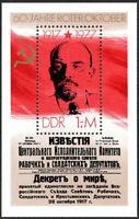 DDR #1850 MNH S/S CV$1.60 Lenin Russian Revolution