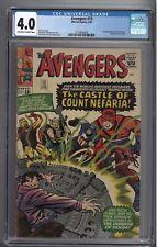 Avengers #13 (02/65) - CGC 4.0 - 1st App Count Nefaria