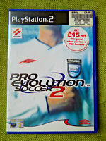 Pro Evolution Soccer 2 / PES 2 (Sony PlayStation 2, 2002, PAL, PS2, Game)