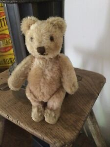 Steiff Vintage Teddy Bear  7  Inches Great Condition.1950s