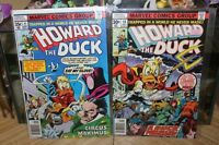 Howard Duck Comic Lot Issues # 14 & # 27