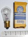 Ampoule à vis E12 120 volts 3 watts années 50 GE NOS NIB - testée 100% OK