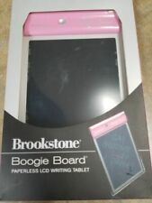 "Pink Brookstone Boogie Board Paperless Ultra Thin 1/8"" LCD Writing Tablet SEALED"