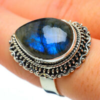 Large Labradorite 925 Sterling Silver Ring Size 8 Ana Co Jewelry R33225F