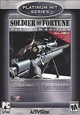 Soldier of Fortune Platinum Greatest Hits Platinum Series - PC by Activision
