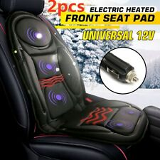 2 x Car Seat Heater Thickening Heated Pad Chair Cushion Winter Warmer Cover 12V
