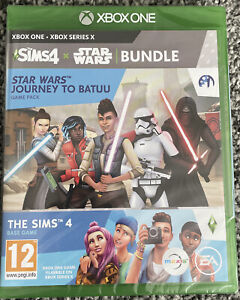 NEW Xbox One Game - Star Wars Journey to Batuu and Sims 4 Bundle - Free UK PP