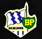 NORTH MELBOURNE & BP Vinyl Decal Sticker PETROL afl vfl THE KANGAROOS Promo Oil