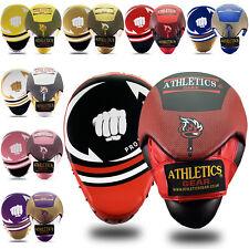 Focus Pads Hook & Jab Mitts Kick Boxing MMA Strike Punch Bag Kick Curved