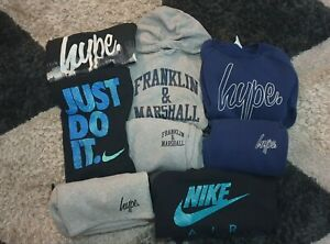 Bundle Of Boys Clothes Age 13-14 & age 14-15 ,Nike, Franklin & Marshall, & Hype