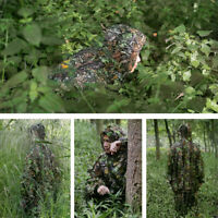 Camouflage Gillies Suits 3D Leafy For Hunting + Wildlife Photograph [1 Set]