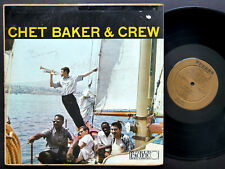 CHET BAKER Quintet & Crew WORLD PACIFIC RECORDS STEREO-1004 US 1958 JAZZ DG ST