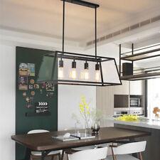 Large Chandelier Lighting Home Lamp Kitchen Pendant Lights Black Ceiling Lights