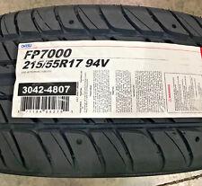 2 New 215 55 17 Ohtsu FP7000 Tires
