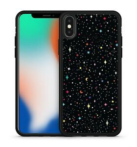 Delightful Colourful Milky Way Star Covered Galactic Space Soft Gel Phone Case