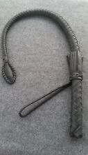Genuine Leather Officer's Nagaika whip With A Cable Inside