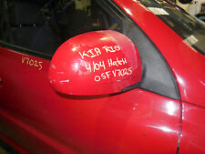 2004 Kia Rio 5 Door RH Door Mirror S/N# V7025 BK1480